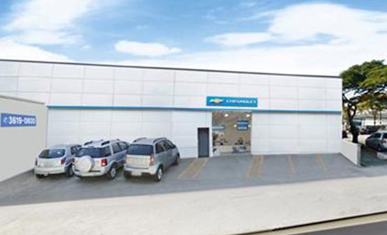Foto da fachada da loja Belenzinho (Peças)