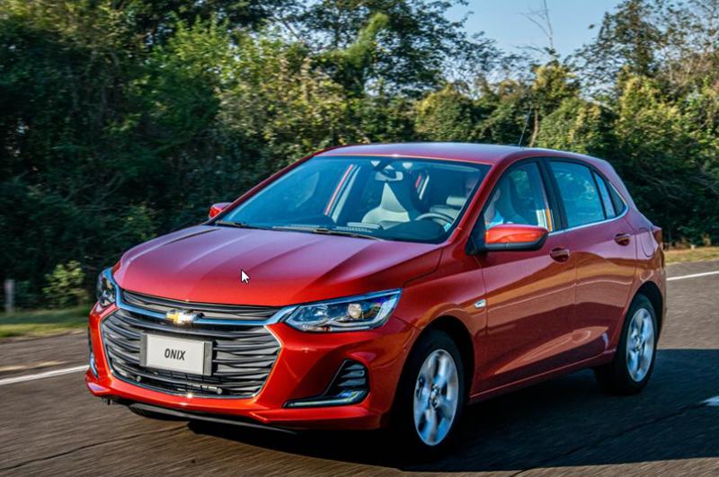 Imagem referente à notícia Chevrolet Onix é o carro mais vendido em 2019