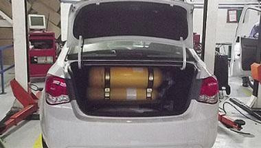 Imagem ilustrativa da oferta de Kit Gás Natural Veicular - GNV (Ouro)